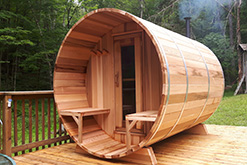 Outdoor Saunas in Jersey