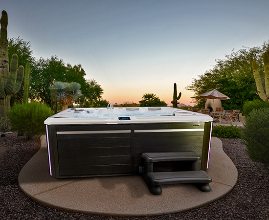 Self Cleaning Hot Tub 8 Seater