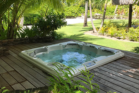 Hydropool Hot Tub Installation