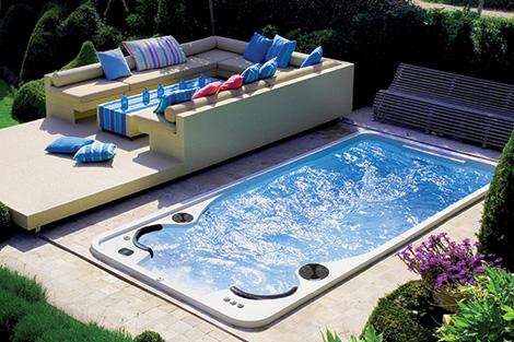 Hydropool Swim Spa Installations