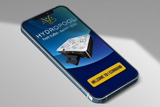 Phone Control for Hydropool Self Cleanig Hot Tubs