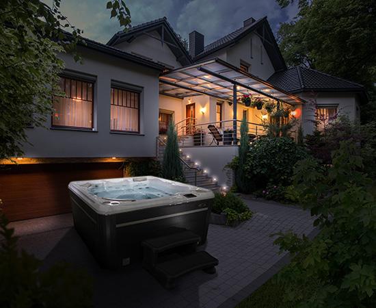 Hydropool 570 Platinum Self Cleaning Hot Tub