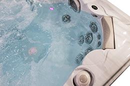 Hydropool Self Cleaning 790 Platinum Hot Tub Massage Zones