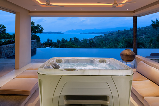 hydropool serenity hot tub 4500 top