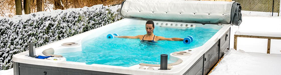 Hydropool 14AX Swim Spa