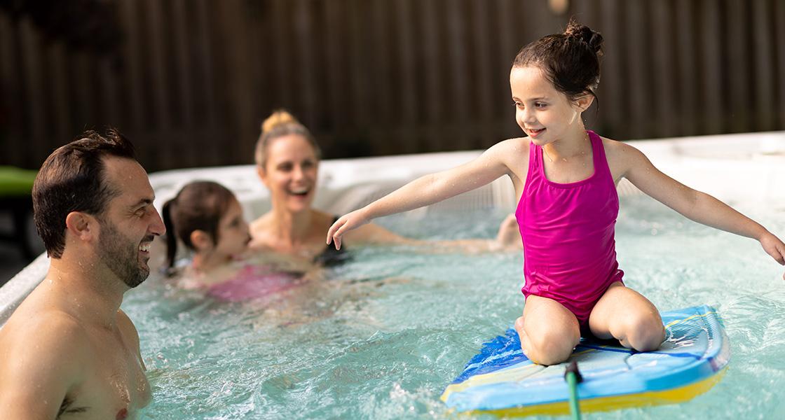 Family Fun Pool Swim Spa
