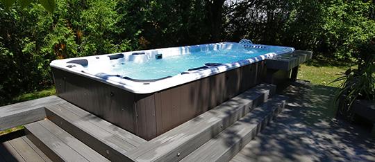 Hydropool 19 DTAX Swim Spa