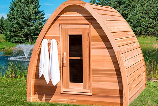 Outdoor Saunas In Jersey