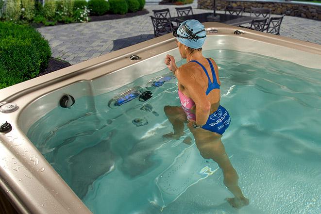 Hydropool Aquatrainer Swim Spa