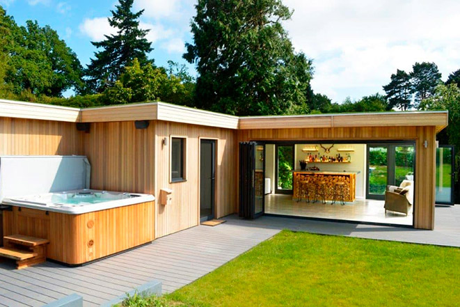Hydropool Outdoor Gazebos and Rooms