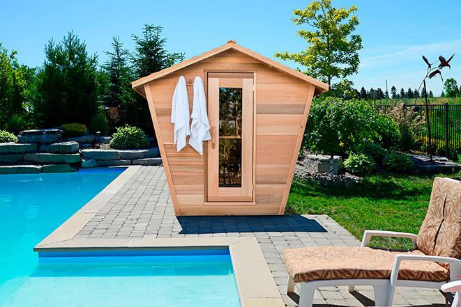 Hydropool Outdoor Saunas
