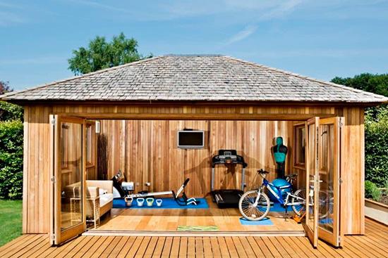 Outdoor Garden Gym In Jersey