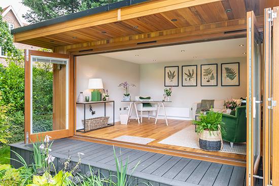 Outdoor Garden Office In Jersey