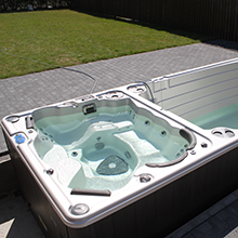 19 DTFX Self Cleaning Swim Spa - Hydropool Channel Islands